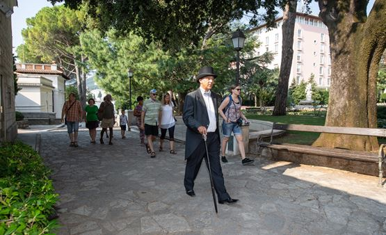 The walk through the history of Opatija